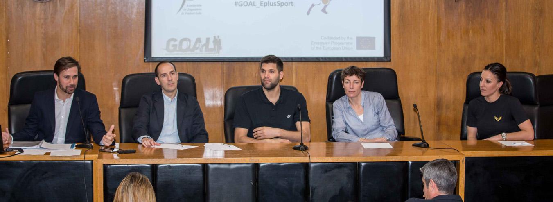 Presentación y Lanzamiento de la PLATAFORMA MOOC GOAL, para apoyar la Carrera Dual de los deportistas
