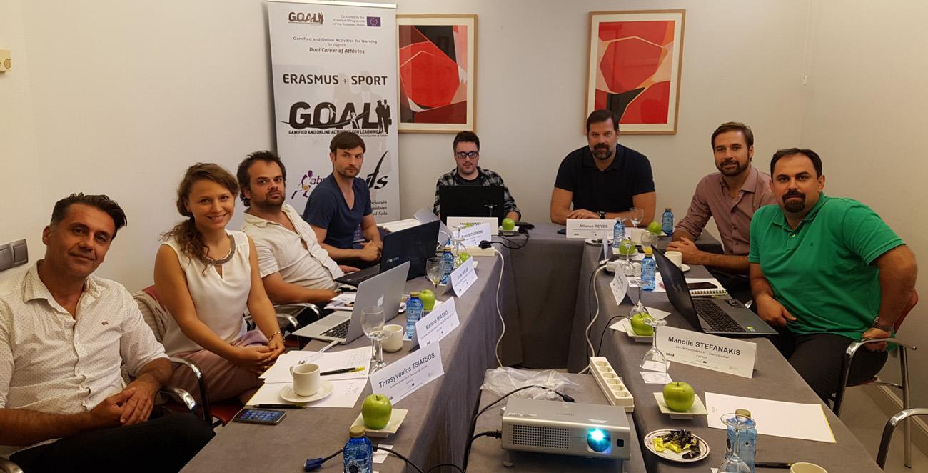 Concluida la segunda reunión del Proyecto GOAL en madrid