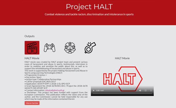 Proyect HALT
