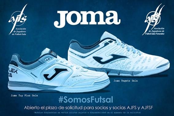 Consigue las zapatillas JOMA con la AJFS & AJFSF