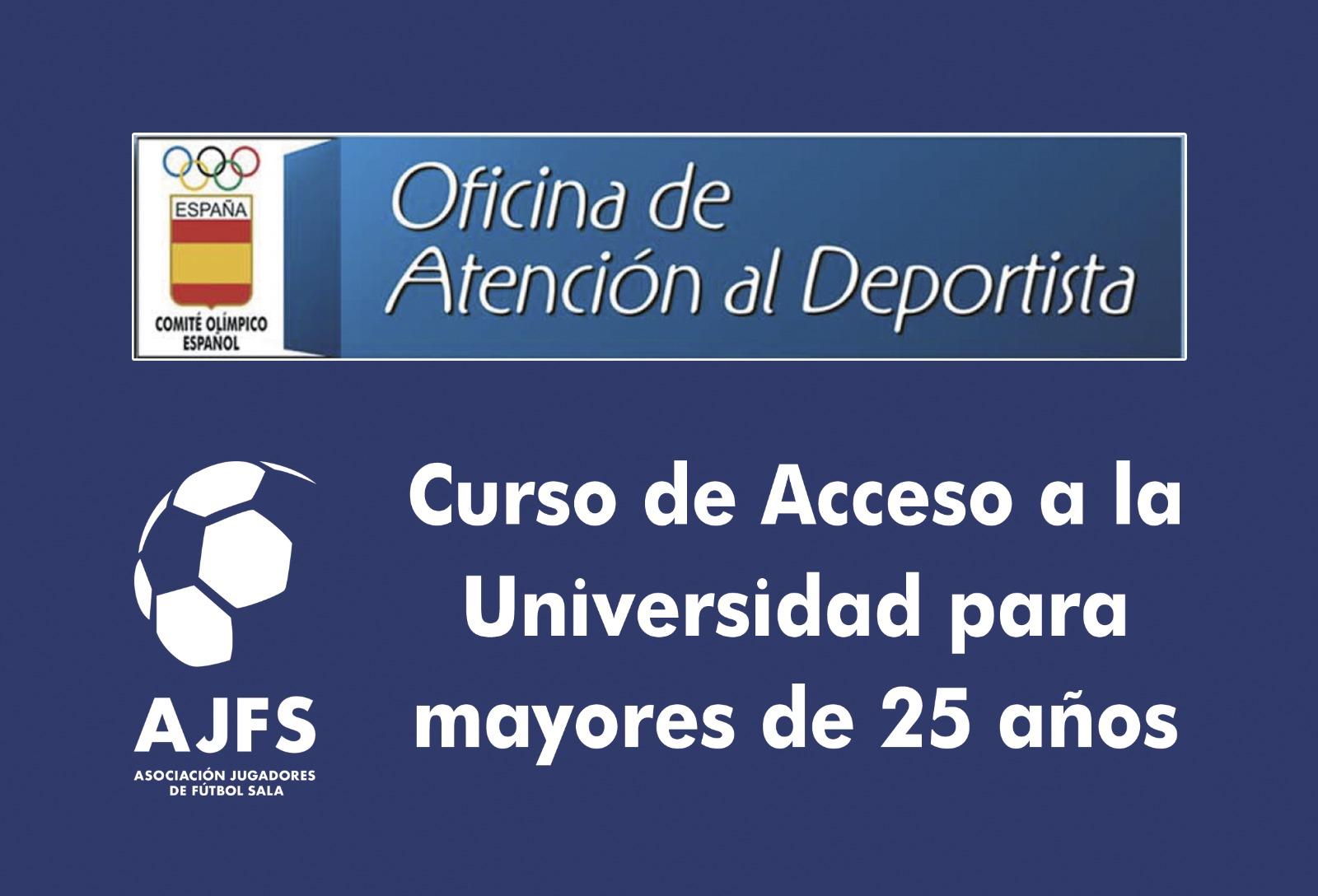 OAD-COE: Curso de Acceso a la Universidad para mayores de 25 años
