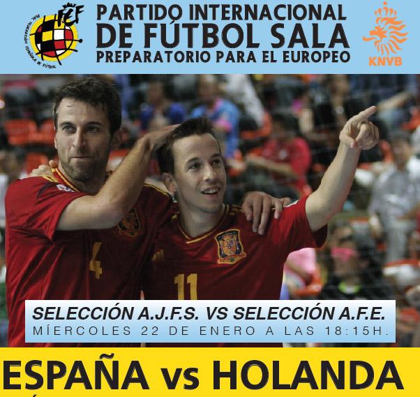 España-Holanda 2014